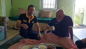 Yeni Malatyaspor TD Hikmet Karaman, başkanın baba ocağında