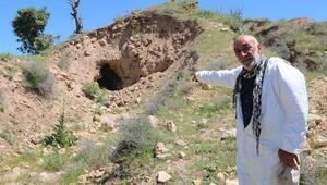 3 bin yıllık Hıdırbaba Höyüğüne defineciler zarar verdi