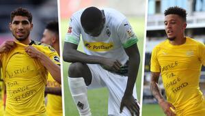 FIFAdan George Floyd uyarısı Sahada tepki gösterene...