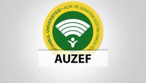 AUZEF online sınav girişi nasıl yapılır AUZEF online sınav giriş ekranı