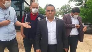 CHPli meclis üyesi kaçak yapının yıkımını durdurmaya çalıştı, arkadaşı zabıtaya tokat attı