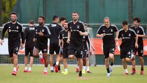 Beşiktaş, günün ilk çalışmasını gerçekleştirdi