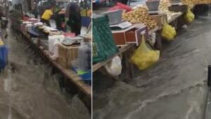 Son dakika haberler: Arnavutköyde yağış paniği