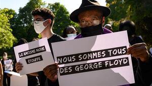 Fransada göstericilerle polis arasında çatışma George Floyd eylemleri yayılıyor
