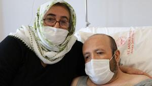 8 yıl sonra bayramda yapılan nakille sağlığına kavuştu