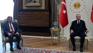 Erdoğandan peş peşe önemli görüşmeler