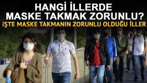 Sokakta maske takmak zorunlu mu cezası ne kadar, hangi illerde maskesiz sokağa çıkmak yasak İşte o iller