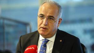 TVF Başkanı Mehmet Akif Üstündağdan, Osmanlısporun yeni başkanı Mehmet Emin Katipoğluna ziyaret