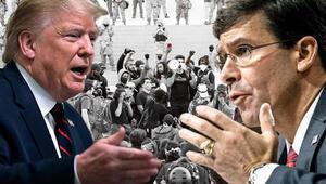 Savunma Bakanı Trump'a karşı