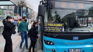 Toplu taşımaya normalleşme ayarı