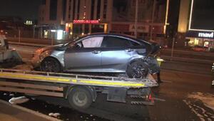 Bahçelievlerde ehliyetsiz sürücü kazası: 1 yaralı
