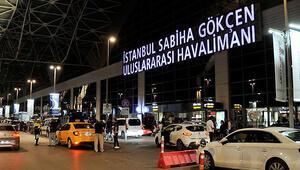 Sabiha Gökçen Havalimanında yoğunluk yaşanıyor