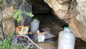 Siirtte, PKKlıların sığınağı kullanılamaz hale getirildi