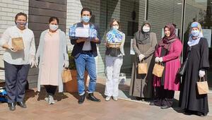 Allach Camisi Derneği, huzurevi çalışanlarına maske