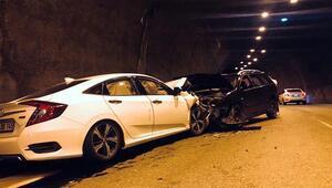Zonguldakta feci kaza Tarif edilen yolu yanlış anlayınca ters şeride girdi