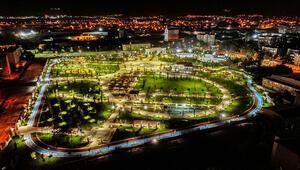 Anadolunun en büyük Millet Bahçesi yarın açılıyor