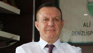 Denizlispor Başkanı Ali Çetin: Denizlispor hak ettiği yerde değil