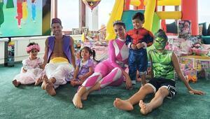 Cristiano Ronaldo, kızları için Aladdin oldu