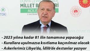 Son dakika haberler... Cumhurbaşkanı Erdoğan: Kurallara uyulmazsa kısıtlama kaçınılmaz olacak