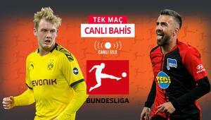 Dortmunda zor rakip, Hertha Berlin formda Öne çıkan iddaa tahmini ise...