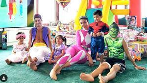 Altı ayda üç çocuk sahibi olmuştu: İkizlerin doğum günü