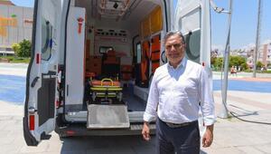 Muratpaşa, 3üncü hasta nakil aracını aldı