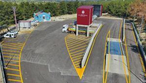 Buldan-Güney Katı Atık Aktarma İstasyonu hizmete girdi