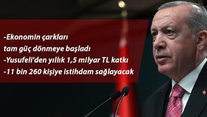 Son dakika... Cumhurbaşkanı Erdoğan: Yusufeli Barajı ekonomiye yılda 1,5 milyar TL katkı sağlayacak