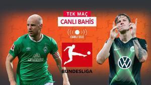 Deplasman fatihi Wolfsburg, iç saha fakiri Bremene konuk Öne çıkan iddaa...