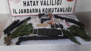 Hatayın 5 ilçesinde uyuşturucu operasyonu: 34 gözaltı