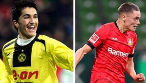 17 yıl 34 günlük olan Wirtz, rekoru 17 yıl 82 günlükken gol atan Nuri Şahinin elinden aldı