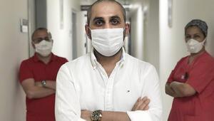 Koronavirüs ile 50 günlük savaşından zaferle çıktı