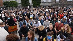 Danimarka'da ırkçılık ve polis şiddetine karşı protesto