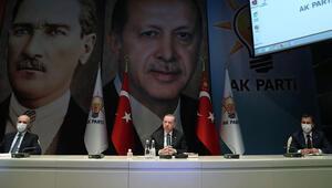 Son dakika... AK Parti MKYK, Cumhurbaşkanı Erdoğan başkanlığında toplandı