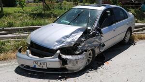 Burdurda zincirleme kaza: 3 yaralı