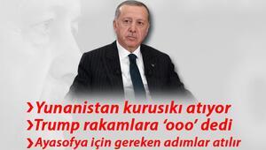 Cumhurbaşkanı Erdoğan canlı yayında gazetecilerin sorularını yanıtladı