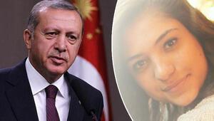 Cumhurbaşkanı Erdoğan'dan Aybüke Yalçın mesajı