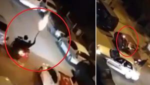 Ankarada skandal görüntüler Pompalı tüfek ve tabancayla ateş açtılar