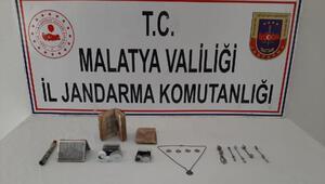 Malatyada tarihi eser operasyonu: 2 gözaltı