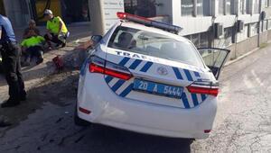 Ekip otosu ile otomobil çarpıştı: 2si polis, 5 yaralı
