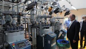 Başkan Bilginden fabrika ziyareti