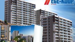Ege-Kooptan 2019 rakamlarıyla ev sahibi olma şansı