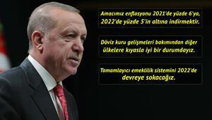 Cumhurbaşkanı Erdoğan açıkladı İşte yeni normalleşme döneminde ekonomi hamleleri