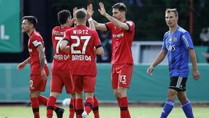 Almanya Kupasında ilk finalist Bayer Leverkusen oldu