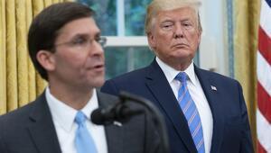 ABDde bomba iddia Trump ile Esper arasında derin uçurum