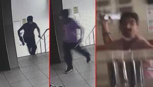 Esenyurtta doktorlara bıçaklı ve demir çubuklu saldırı anı kamerada