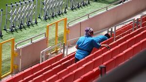 Gürsel Aksel Stadı, Trabzonspor maçına hazır Tüm talimatlar uygulanıyor...
