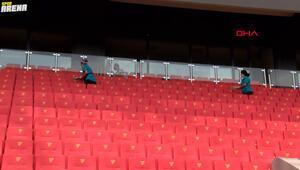 Göztepe Stadı, Trabzonspor maçına hazır