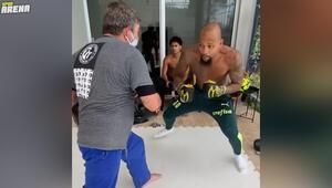 Felipe Melodan boks antrenmanı