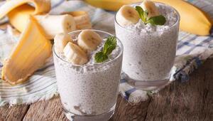 Kahvaltıya leziz alternatif: Muzlu chia puding